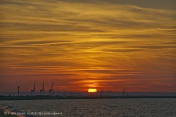 Zachód słońca nad Portem Północnym